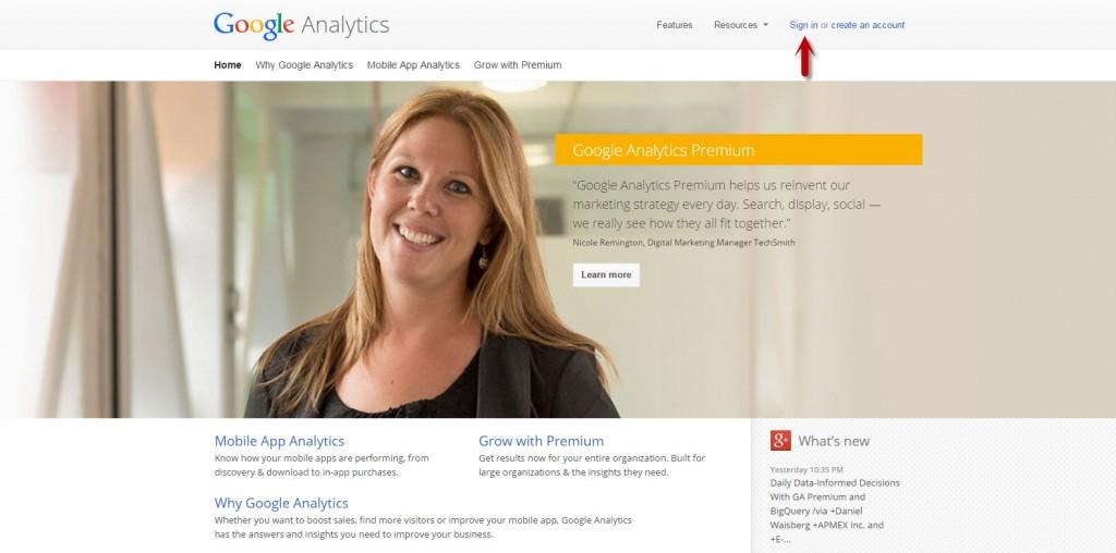 google-analytics-login